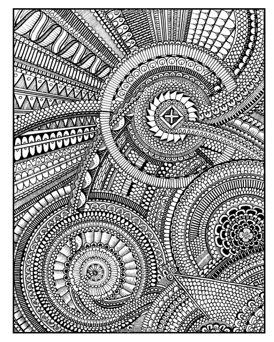 Lines coloring #2, Download drawings
