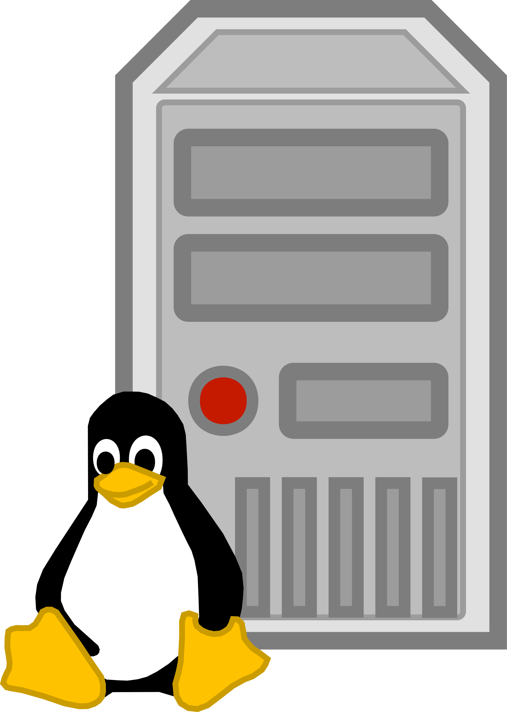 Linux clipart #5, Download drawings