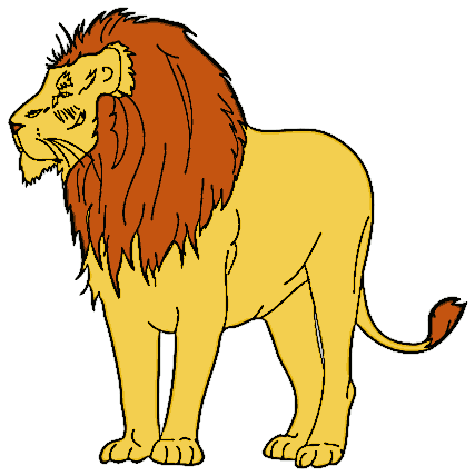 Lion clipart #13, Download drawings
