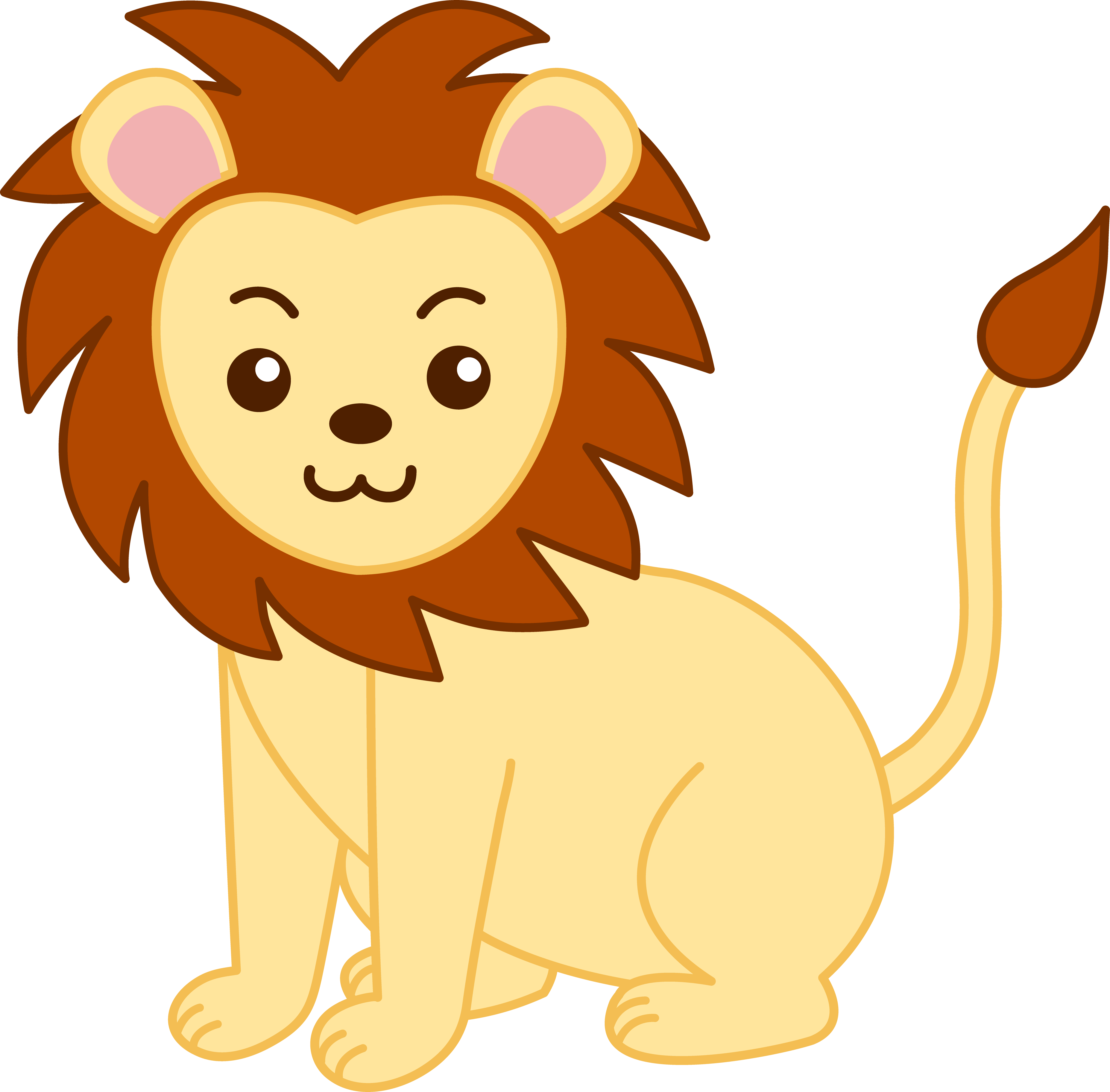 Lion clipart #1, Download drawings