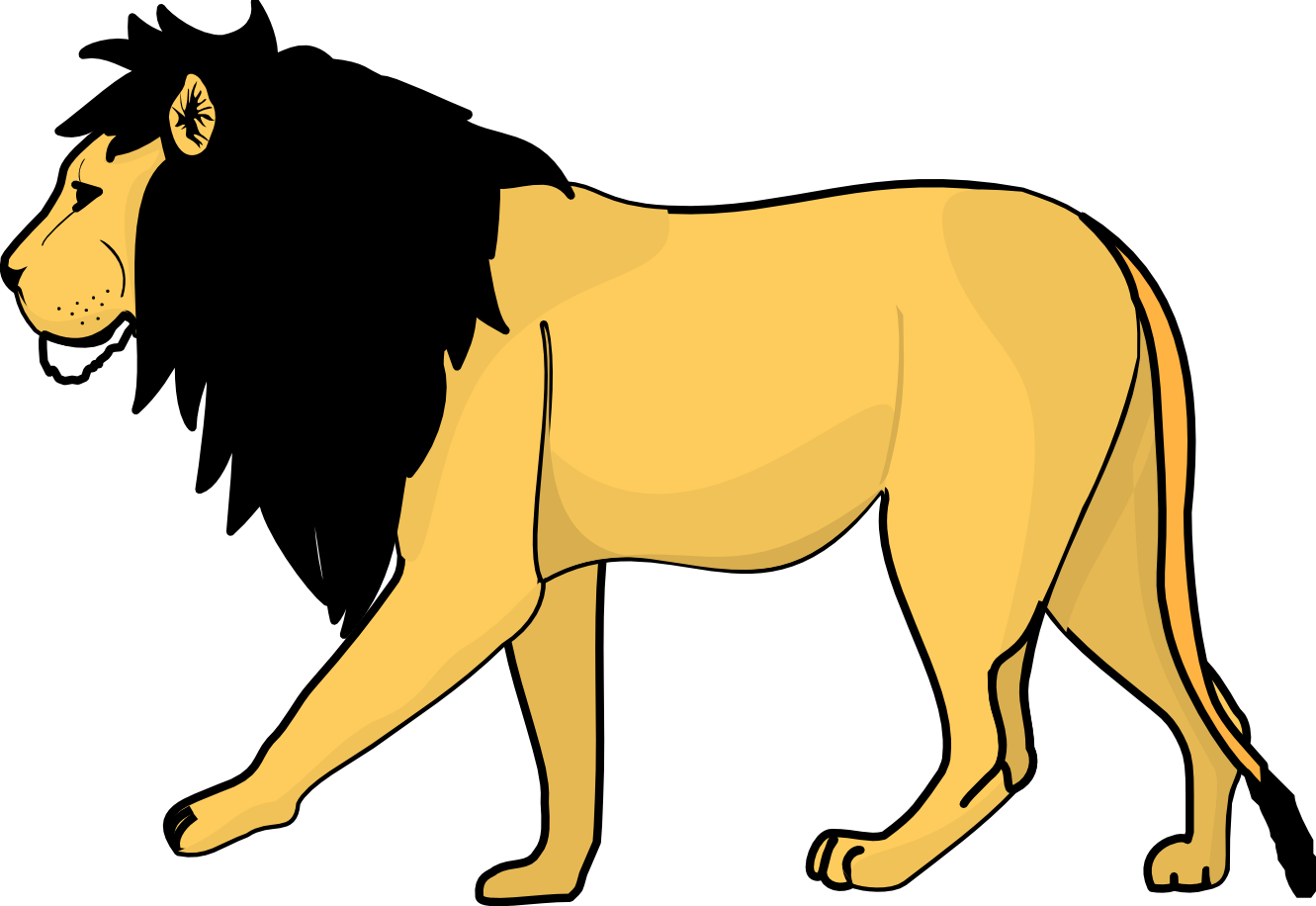 Lion clipart #4, Download drawings