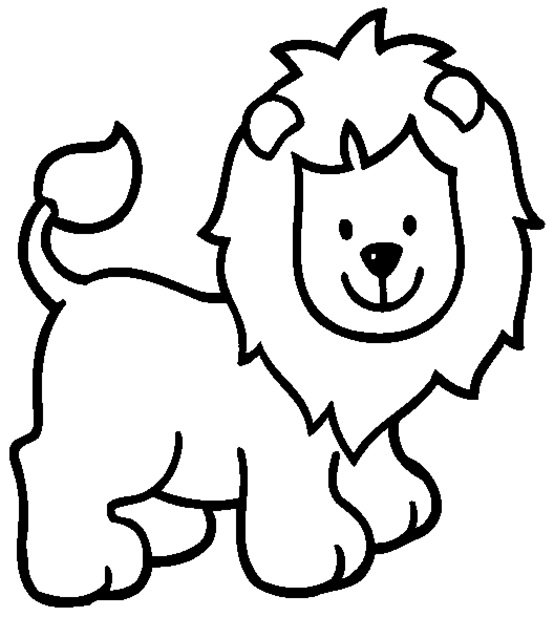 Lion coloring #9, Download drawings