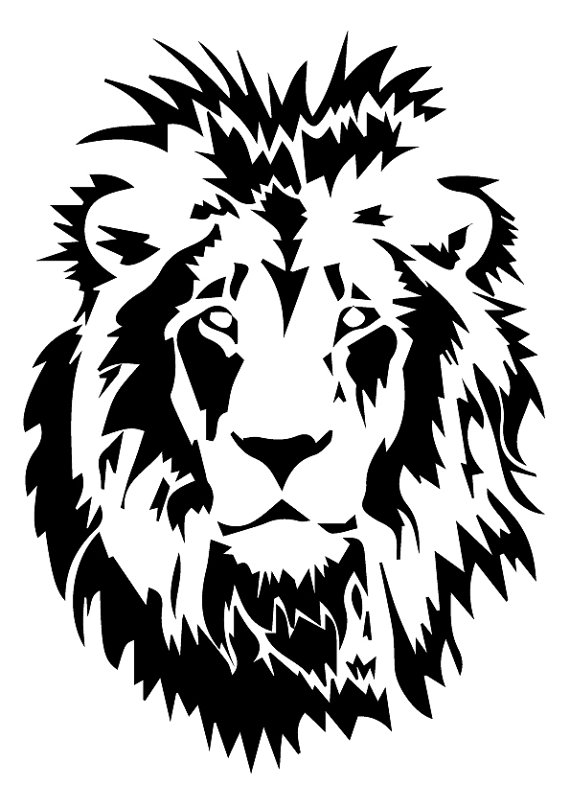 White Lion svg #10, Download drawings