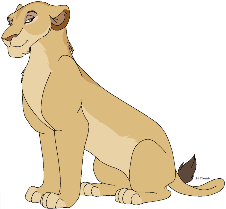 Lioness clipart #2, Download drawings