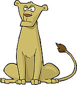 Lioness clipart #10, Download drawings