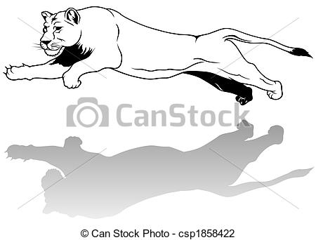 Lioness clipart #5, Download drawings