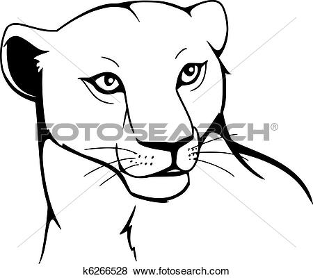 Lioness clipart #11, Download drawings