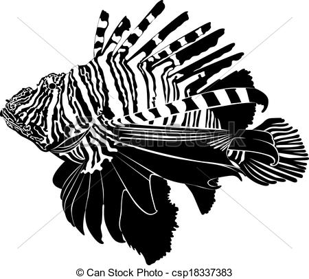 Lionfish clipart #12, Download drawings