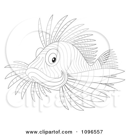 Lionfish clipart #9, Download drawings