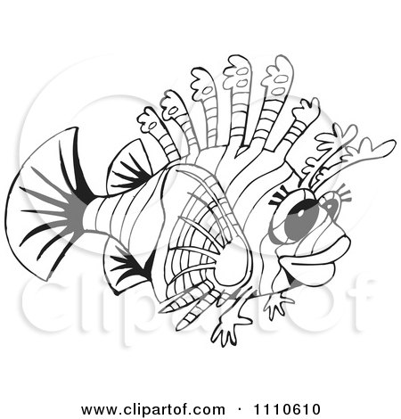 Lionfish clipart #8, Download drawings