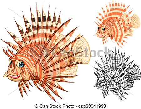 Lionfish clipart #7, Download drawings