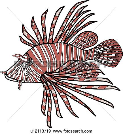 Lionfish clipart #13, Download drawings