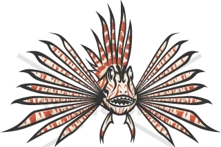 Lionfish clipart #18, Download drawings