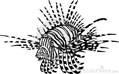 Lionfish clipart #15, Download drawings