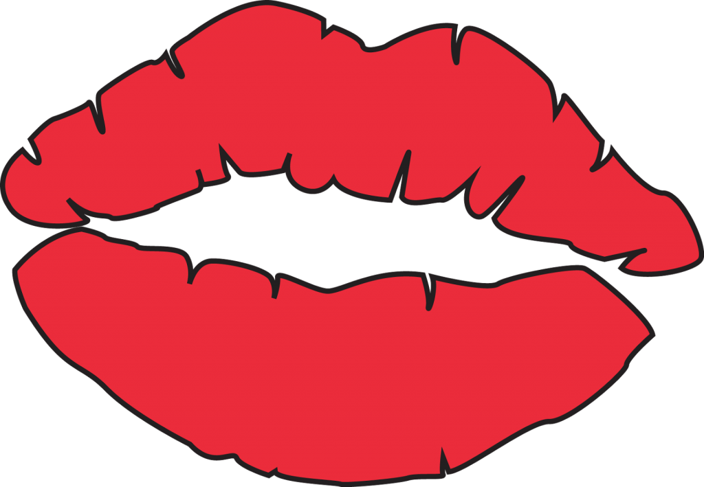Lips coloring #18, Download drawings