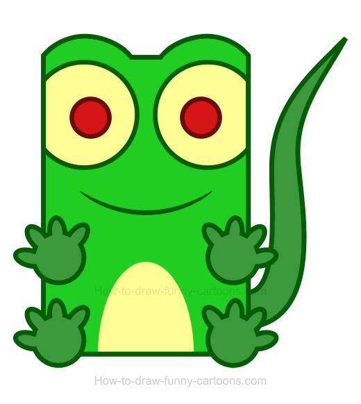 Lizard clipart #10, Download drawings