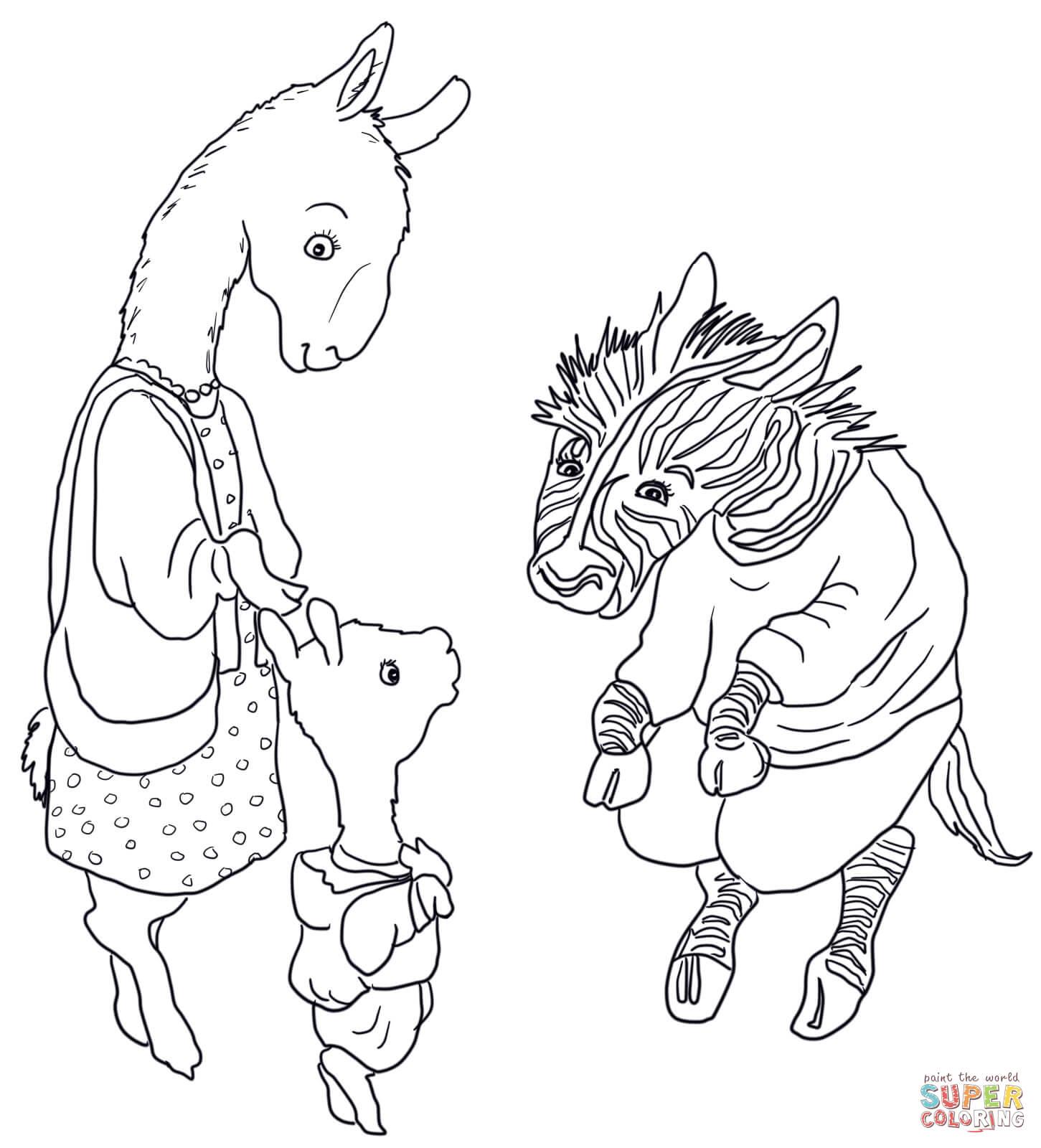 Llama coloring #2, Download drawings