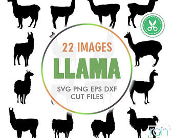 Llama svg #11, Download drawings