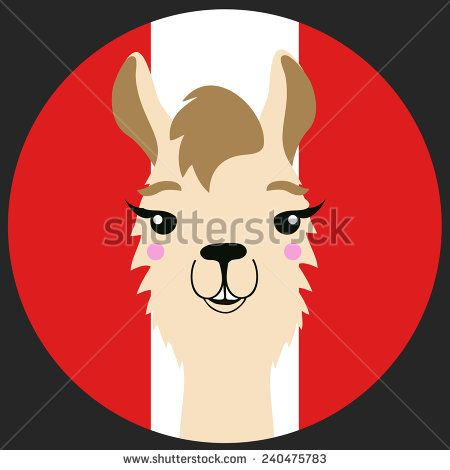 Llama svg #2, Download drawings