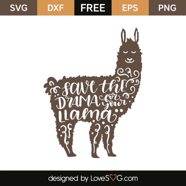 llama svg free #1080, Download drawings