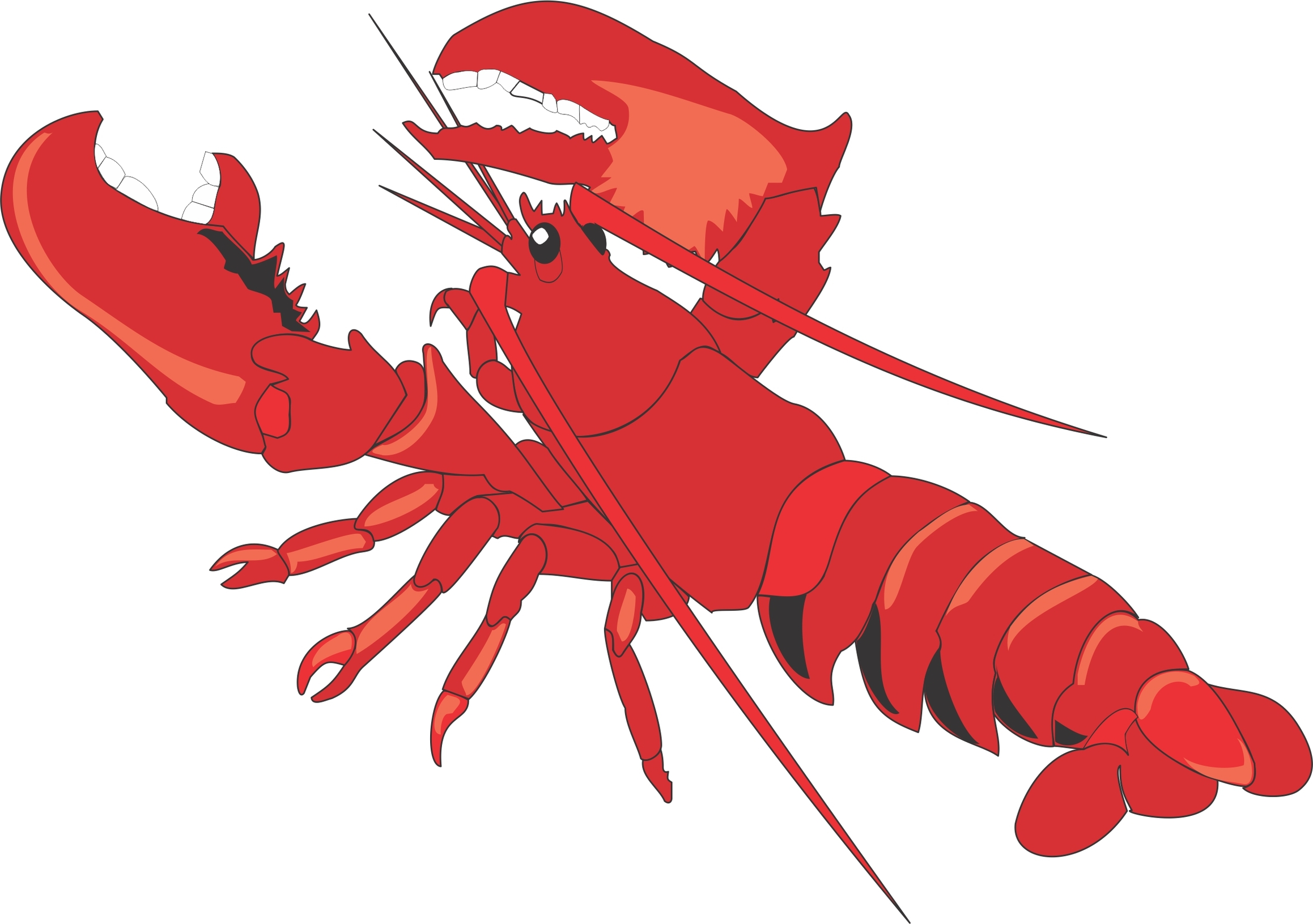 Lobster clipart #7, Download drawings
