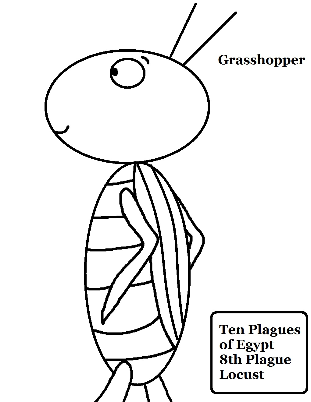 coloring pages locust - photo#16