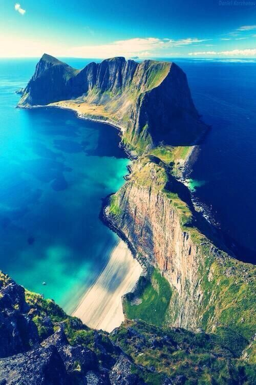 Lofoten Islands coloring #14, Download drawings