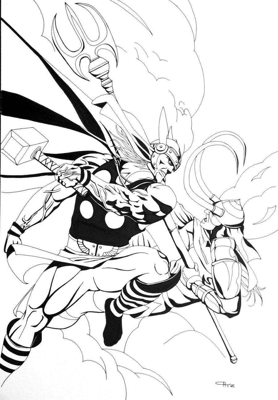 Loki coloring #6, Download drawings