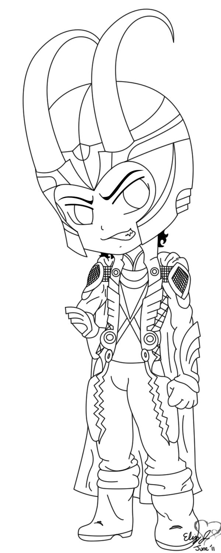 Loki coloring #10, Download drawings