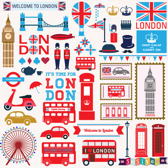 London clipart #3, Download drawings