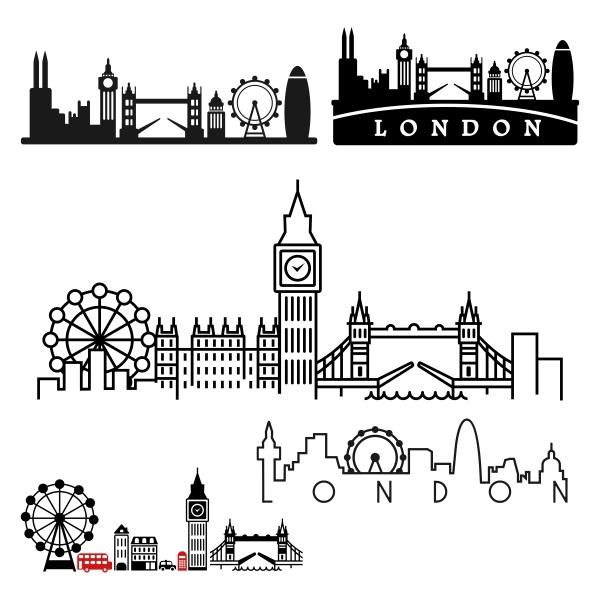 London svg #18, Download drawings