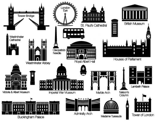 London svg #17, Download drawings