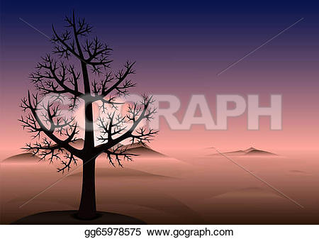 Lonely Tree clipart #9, Download drawings