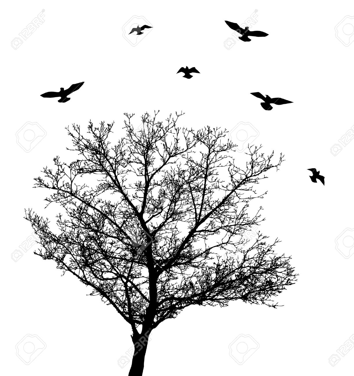 Lonely Tree clipart #18, Download drawings