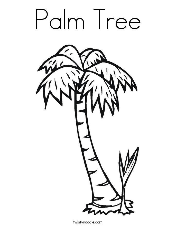 Lonely Tree coloring #12, Download drawings