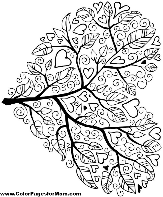 Lonely Tree coloring #4, Download drawings