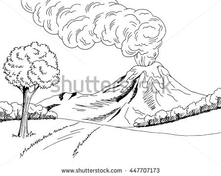Lonely Tree coloring #6, Download drawings