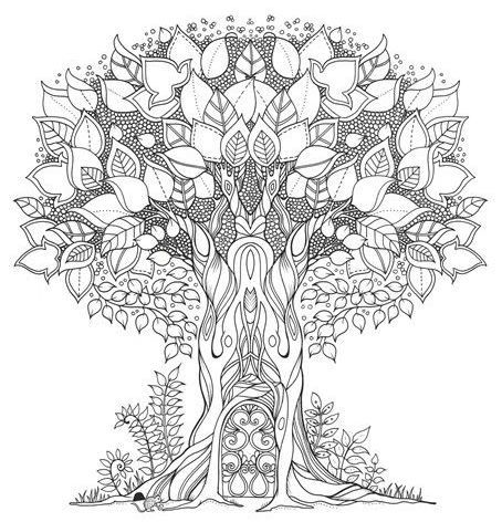 Lonely Tree coloring #15, Download drawings