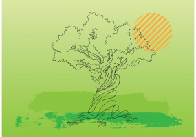 Lonely Tree svg #13, Download drawings