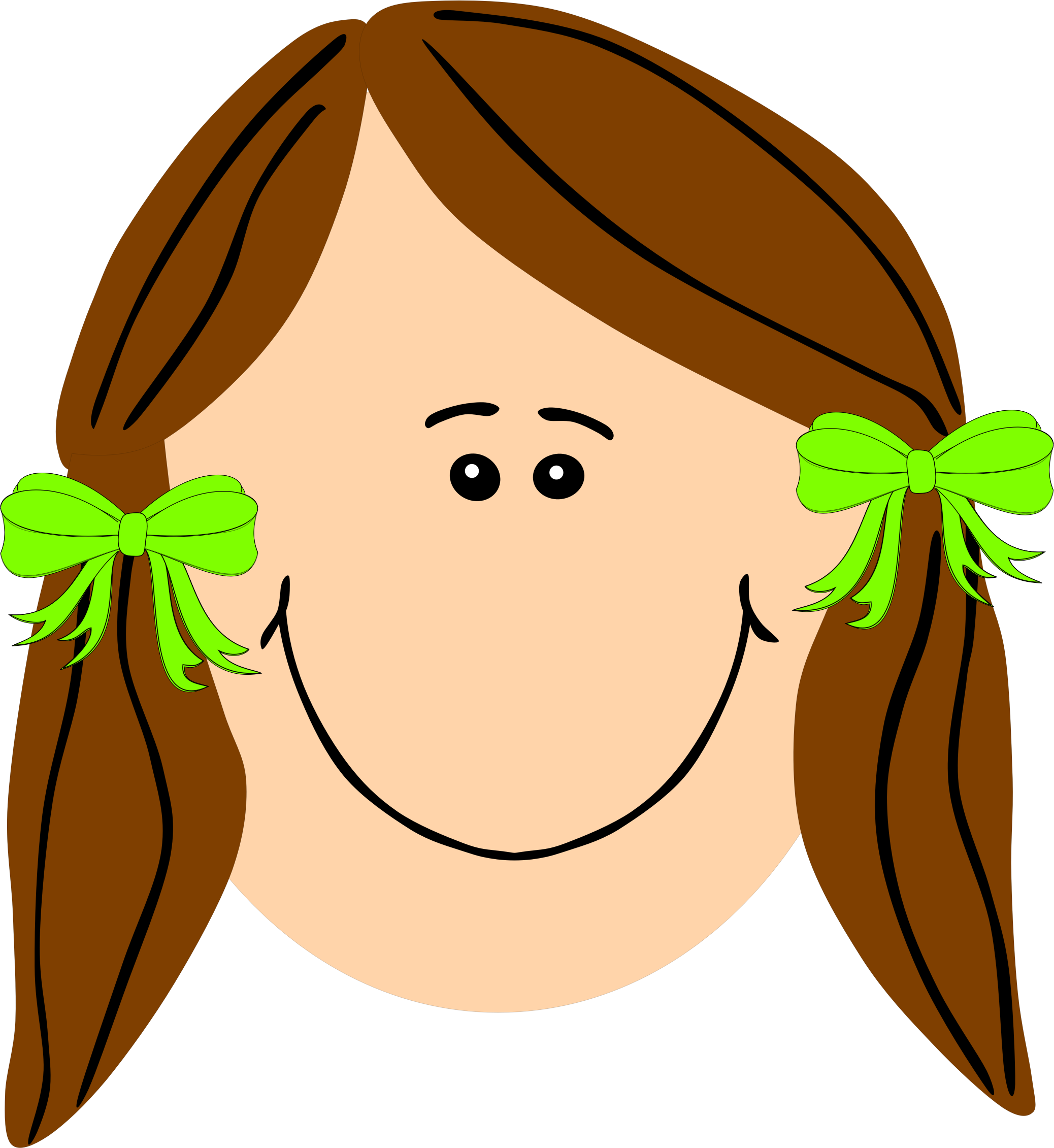 Long Hair clipart #3, Download drawings