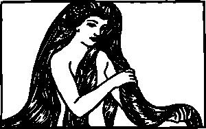 Long Hair svg #13, Download drawings