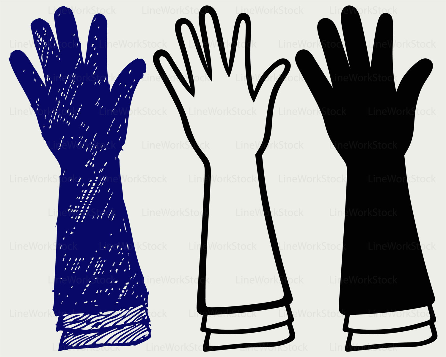 Glove svg #1, Download drawings