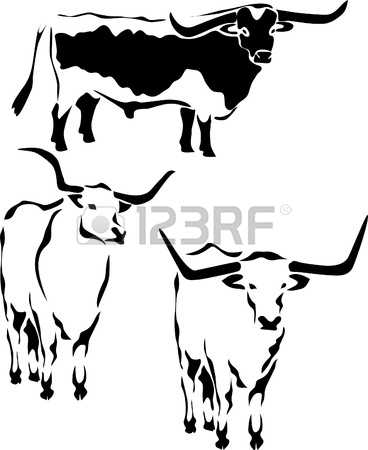 Longhorn Cattle clipart #10, Download drawings