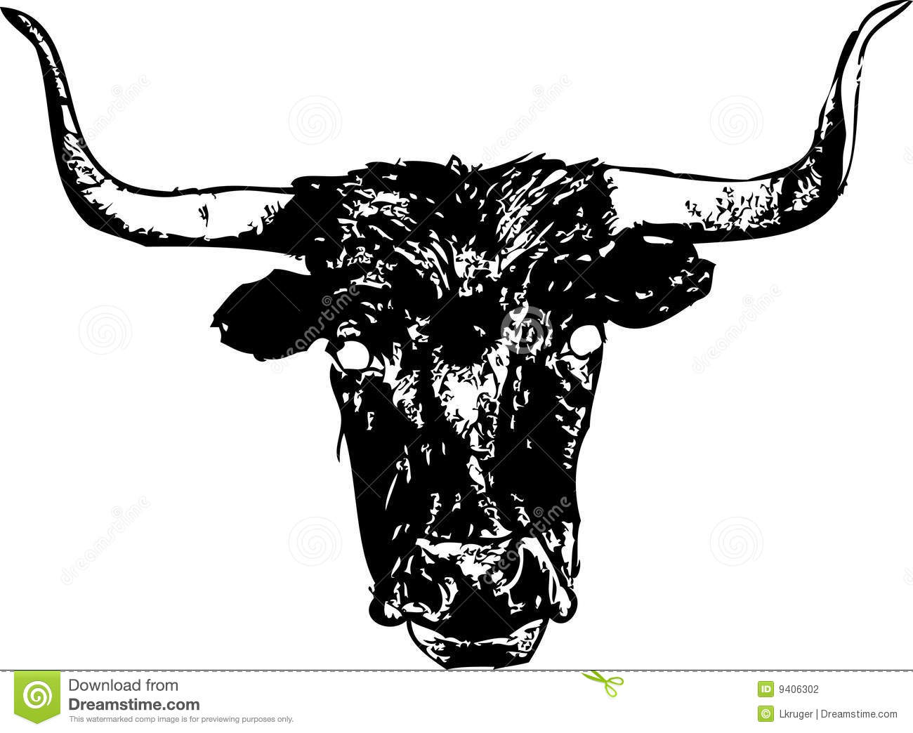 Longhorn Cattle clipart #6, Download drawings