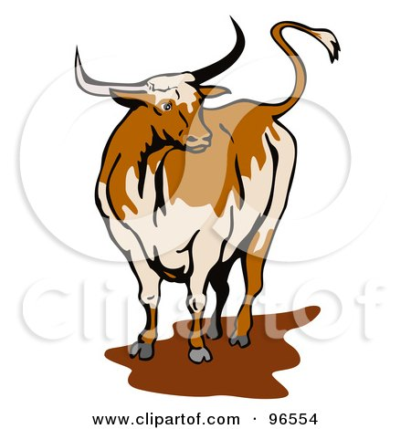 Longhorn Cattle clipart #14, Download drawings