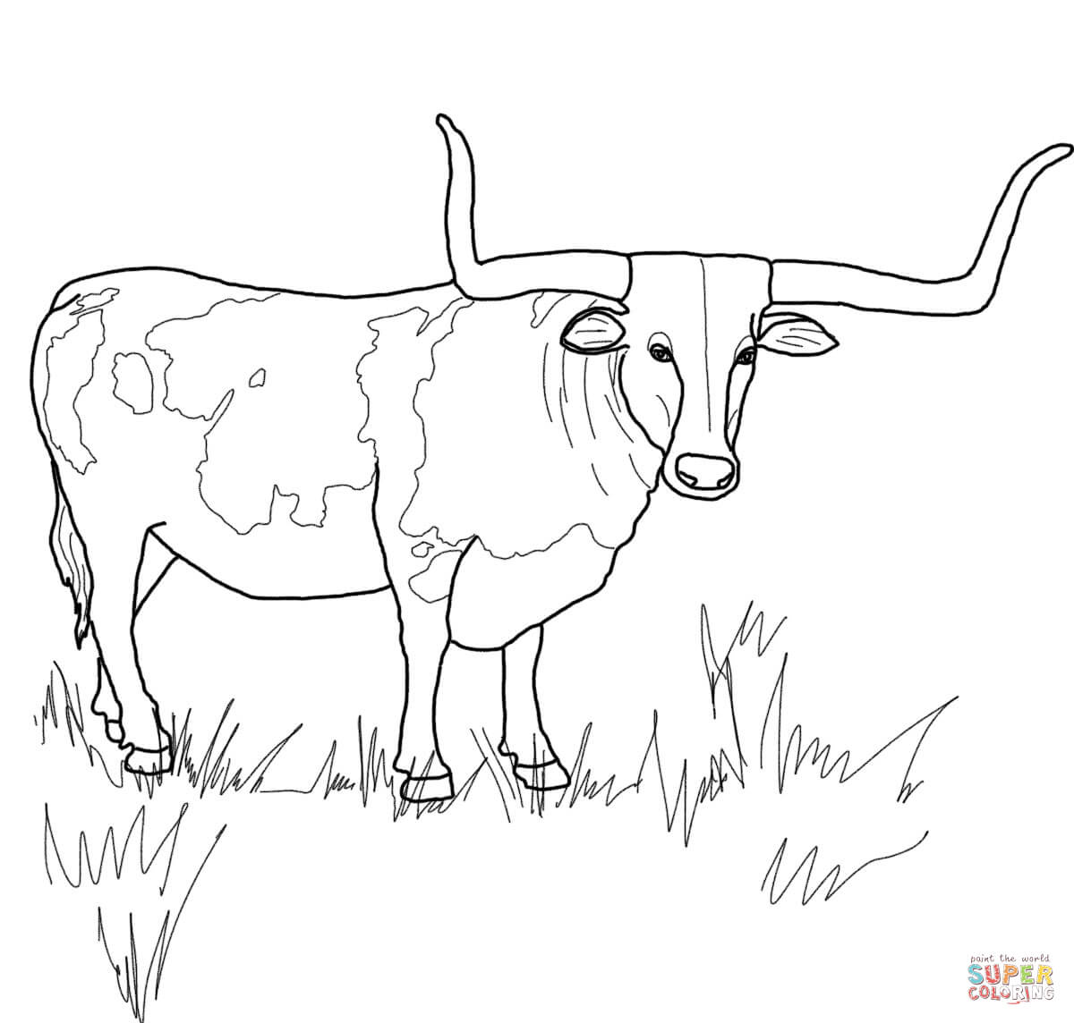 Texas coloring #11, Download drawings