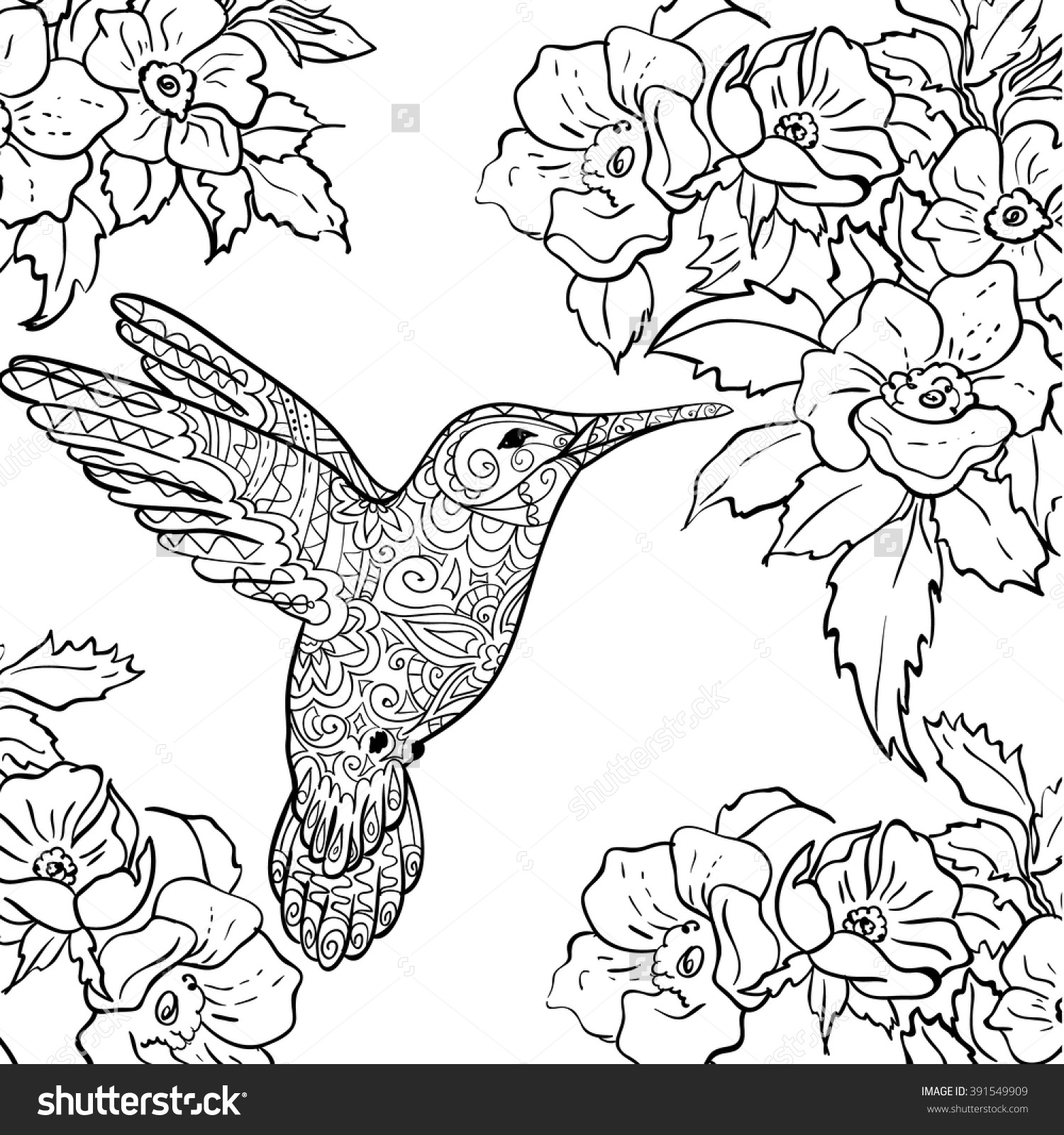 Nectar coloring #5, Download drawings