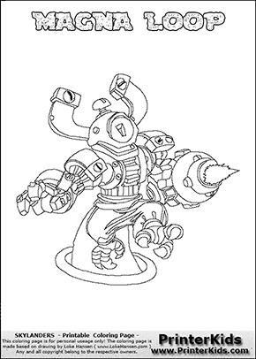 Loop coloring #16, Download drawings