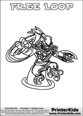 Loop coloring #11, Download drawings