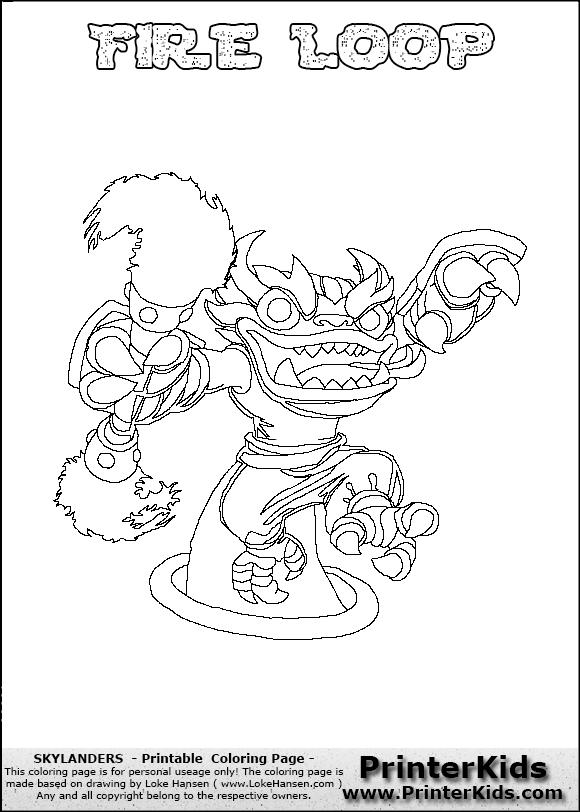 Loop coloring #18, Download drawings